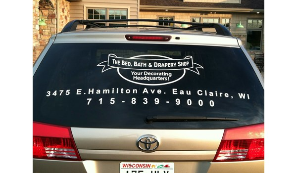 Vehicle Window Decals
