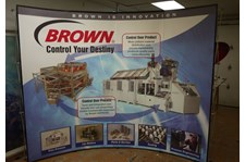 - Image360-Traverse-City-MI-Table-Top-Display-Brown