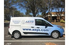 AXYZ Vehicle wrap van wrap by Image360 Tampa Ybor City